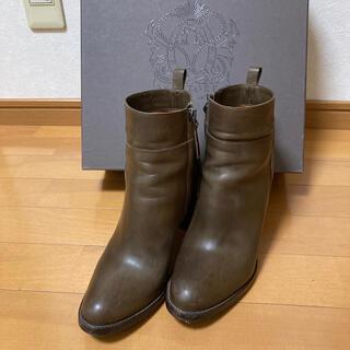 トゥモローランド(TOMORROWLAND)のサルトル ショートブーツ(ブーツ)