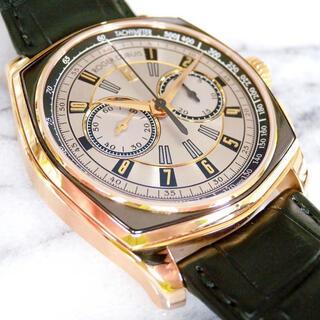 ロジェデュブイ(ROGER DUBUIS)のロジェデュブイ モガネスク クロノグラフ 18k RG  自動巻 45mm (腕時計)