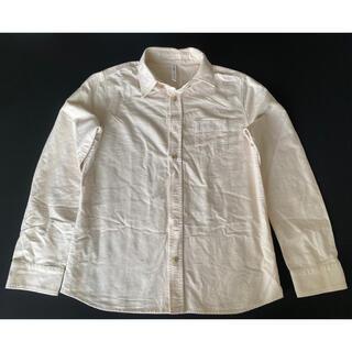 グラム(glamb)のglamb 白 長袖シャツ M(Tシャツ/カットソー(七分/長袖))