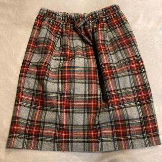 ドットアンドストライプスチャイルドウーマン(Dot&Stripes CHILDWOMAN)のドットアンドストライプ  チェックタイトスカート(ひざ丈スカート)