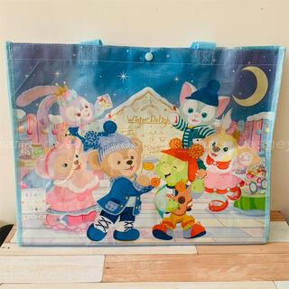 ダッフィー(ダッフィー)の香港ディズニー新商品 ウィンター ダッフィーフレンズ ショッピングバッグ(エコバッグ)