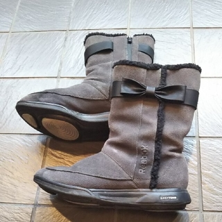 リーボック(Reebok)のイージートーン グレー色ブーツ(ブーツ)