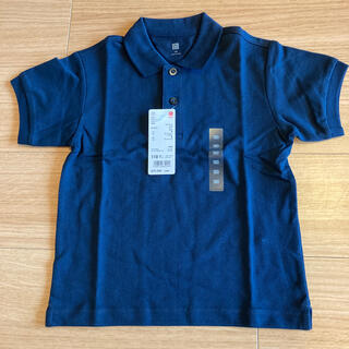 ユニクロ(UNIQLO)の新品 ユニクロポロシャツ  110(Tシャツ/カットソー)