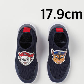 エイチアンドエム(H&M)の新品✧パウパトロール スニーカー スリッポン 靴 18cm(スニーカー)