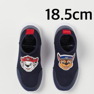 エイチアンドエム(H&M)の新品✧パウパトロール スニーカー スリッポン 靴 18cm 18.5cm(スニーカー)