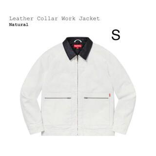 シュプリーム(Supreme)のSupreme Leather Collar Work Jacket S(ダウンジャケット)
