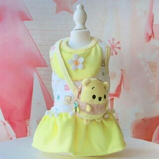 ディズニー(Disney)の犬服 XLサイズ プーさん ディズニー キャラクター(ペット服/アクセサリー)