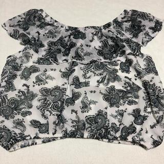 アベイル(Avail)のアベイル オフショルダー ブラウス ペイズリー (シャツ/ブラウス(半袖/袖なし))