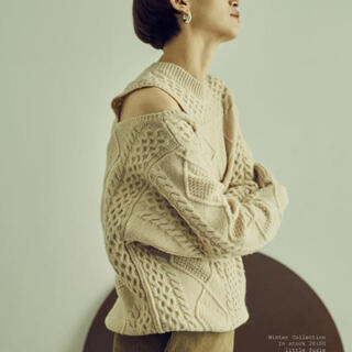 little suzie knit(ニット/セーター)