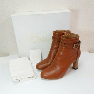 クロエ(Chloe)のChloe ショートブーツ 美品 36.5(ブーツ)
