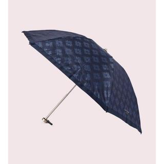 ケイトスペードニューヨーク(kate spade new york)のkatespade  スペード フラワー ジャカード ミニ パラソル(傘)