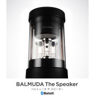 バルミューダ(BALMUDA)のバルミューダ ザスピーカーBALMUDA The Speaker M01A-BK(スピーカー)
