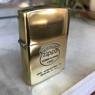 ジッポー(ZIPPO)のセール Zippo zippo ジッポーオイルライター真鍮製(タバコグッズ)