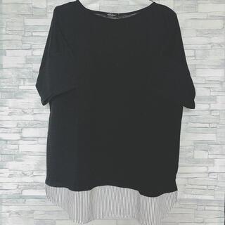 アベイル(Avail)のアベイル しまむら トップス 半袖 シャツ 大きいサイズ(シャツ/ブラウス(半袖/袖なし))