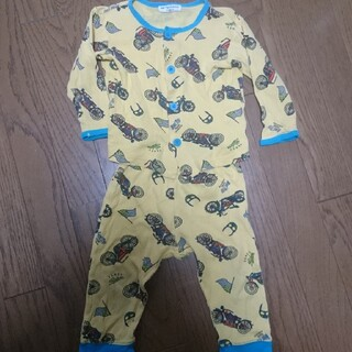 アンパサンド(ampersand)のパジャマ バイク柄 80 (パジャマ)