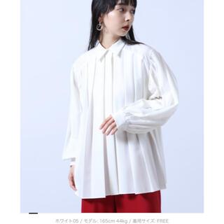ハレ(HARE)のHARE 【LADIES】プリーツシャツ(シャツ/ブラウス(長袖/七分))