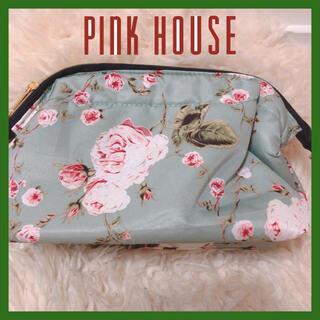 ピンクハウス(PINK HOUSE)の【美品】ピンクハウス ポーチ バニティ メイクポーチ がま口ポーチ ムック本(ポーチ)