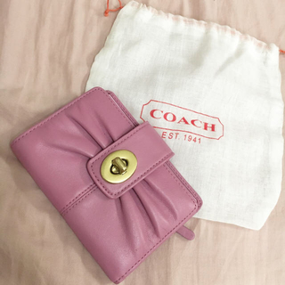 コーチ(COACH)のcoach 2つ折り財布(財布)