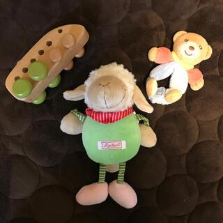ボーネルンド(BorneLund)のオルゴール、ガラガラ、木のおもちゃ(オルゴールメリー/モービル)