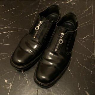 ヨウジヤマモト(Yohji Yamamoto)のYohji Yamamoto Pour Homme センタージップレザーシューズ(ドレス/ビジネス)