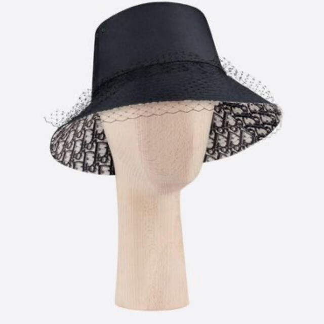Dior(ディオール)のディオール バケットハット 帽子 チュール付き レディースの帽子(ハット)の商品写真