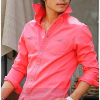 ダブル(DOWBL)のDOWBLのフラミンゴシャツ(シャツ)