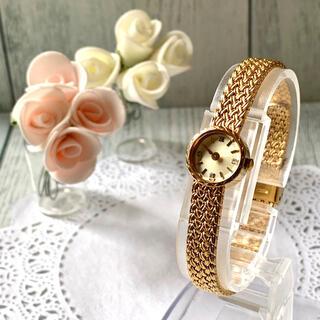 アガット(agete)の【電池交換済】agete アガット 腕時計 ラウンドフェイス ジュエリーウォッチ(腕時計)