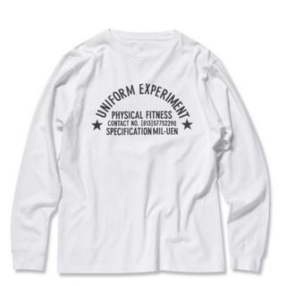 フラグメント(FRAGMENT)のユニフォームエクスペリメント soph  ロンT 定価12,000円(Tシャツ/カットソー(七分/長袖))