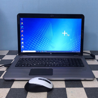 ヒューレットパッカード(HP)の世界シェア2位 hp Core i7ノートパソコン Windows10(ノートPC)