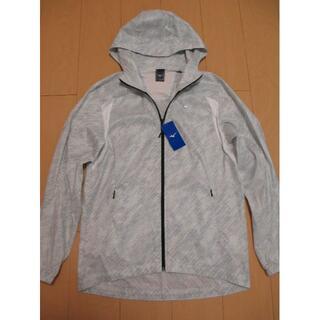 ミズノ(MIZUNO)のミズノ トレーニングPGホワイトウィンドブレーカージャケット(ナイロンジャケット)