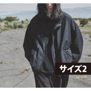 コモリ(COMOLI)のCOMOLI コモリ20AW ナイロンショートジャケット サイズ2  新品未使用(ナイロンジャケット)
