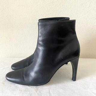 バリー(Bally)のBALLY☆バリー ショートブーツ 黒 シンプル 美品(ブーツ)