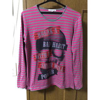 セマンティックデザイン(semantic design)のsemanticdesign セマンティック ボーダーカットソー サイズM(Tシャツ/カットソー(七分/長袖))