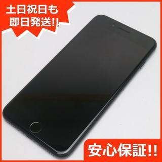 アイフォーン(iPhone)の美品 SOFTBANK iPhone7 PLUS 256GB ブラック (スマートフォン本体)