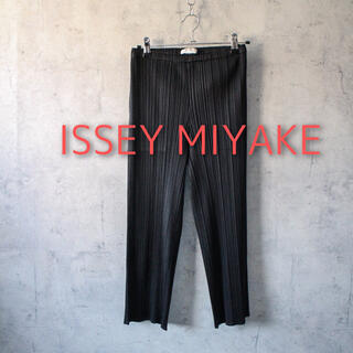 プリーツプリーズイッセイミヤケ(PLEATS PLEASE ISSEY MIYAKE)のISSEY MIYAKE プリーツ パンツ(カジュアルパンツ)