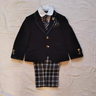 ミチコロンドン(MICHIKO LONDON)のMICHIKO LONDON 男児セレモニースーツ4点セット 100cm(ドレス/フォーマル)