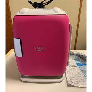 ツインバード(TWINBIRD)のちいたん様専用 美品 ツインバード コンパクト冷温ボックス ピンク(冷蔵庫)