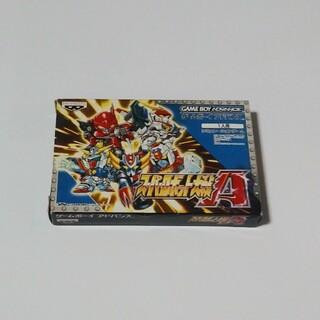 ゲームボーイアドバンス(ゲームボーイアドバンス)のGBA スーパーロボット大戦A(家庭用ゲームソフト)