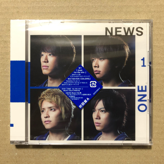 ONE -for the win- 初回盤A【CD+DVD】/NEWS【未開封】(ポップス/ロック(邦楽))