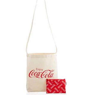 コカコーラ(コカ・コーラ)のポップティーン 付録 コカコーラ トートバッグ ポーチ(トートバッグ)