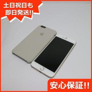 アイフォーン(iPhone)の美品 SIMフリー iPhone6 PLUS 128GB ゴールド (スマートフォン本体)