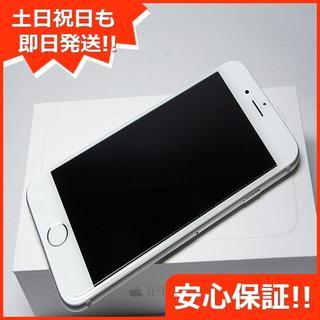 アイフォーン(iPhone)の新品 au iPhone6 16GB シルバー 白ロム(スマートフォン本体)