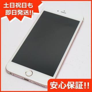 アイフォーン(iPhone)の美品 SOFTBANK iPhone6S PLUS 16GB ローズゴールド (スマートフォン本体)