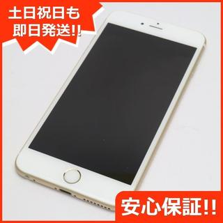アイフォーン(iPhone)の美品 SOFTBANK iPhone6S PLUS 16GB ゴールド (スマートフォン本体)