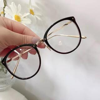 ローリーズファーム(LOWRYS FARM)のすぐ発送 眼鏡 お洒落メガネ 伊達メガネ(サングラス/メガネ)