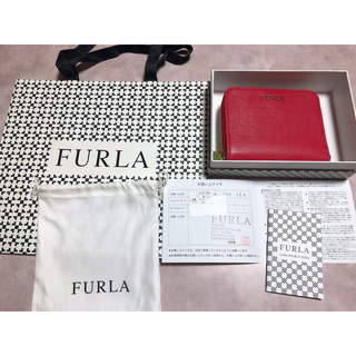 Furla - フルラ FURLA 財布 レッド 二つ折り