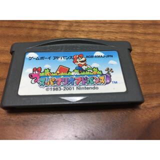 ゲームボーイアドバンス(ゲームボーイアドバンス)のスーパーマリオアドバンス(携帯用ゲームソフト)