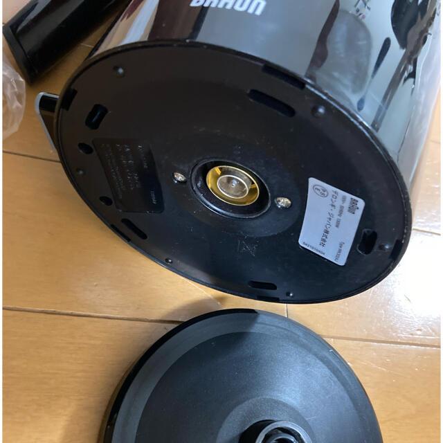 BALMUDA(バルミューダ)のブラウン 電気ケトル スマホ/家電/カメラの生活家電(電気ケトル)の商品写真