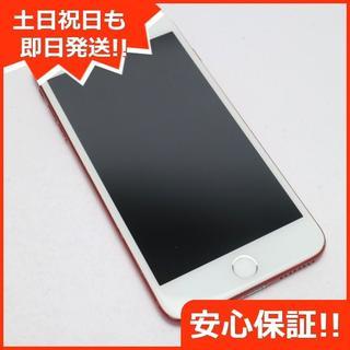 アイフォーン(iPhone)の良品中古 docomo iPhone7 PLUS 128GB レッド(スマートフォン本体)