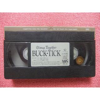 ビクター(Victor)のBUCK-TICKライヴビデオ☆Climax Together VHS(ミュージック)